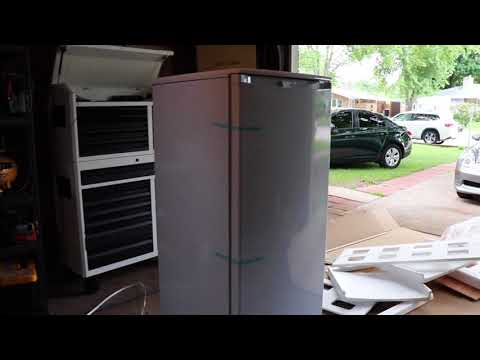 Danby 8.5 Cu. Ft. Upright Freezer Un-Boxing Review!