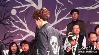 121202 Golden Bell MAMA Full ver EXO-K Baekhyun focus