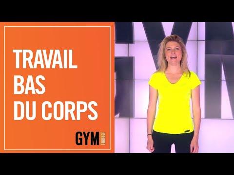 TRAVAIL DU BAS DU CORPS - GYM DIRECT