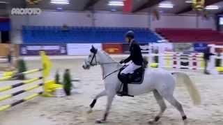 Vechta Hallenchampionat 2015 Prüfung 15/1 Sieger