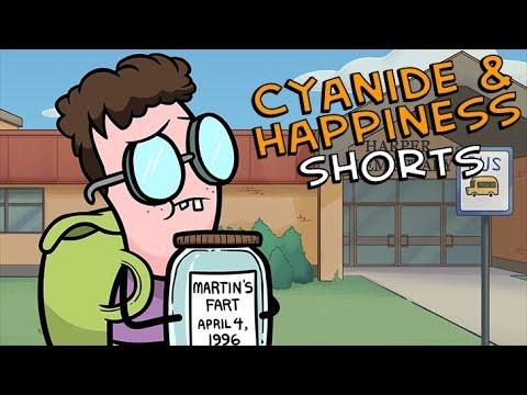 Martin se zaprděnou dózou - Cyanide & Happiness