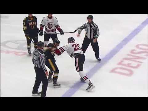 Mason Primeau vs. Sean Josling
