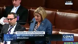 Members Of Congress Debate Holocaust Survivors Assets Restitution!