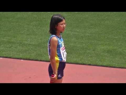小学生女子(東京陸協)4x100mR リレー 日本陸上 サブイベント 2013.6.9