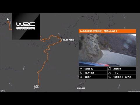 2020年WRC第1戦ラリーモンテカルロ 動画で見る全16ステージ
