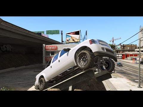 GTA 5 - Vapid Sadler 4x4 (Ford 250) Off-Roading Test