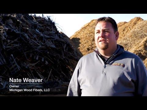 CUSTOMER STORY: Michigan Wood Fibers Optimizes Mulch Production