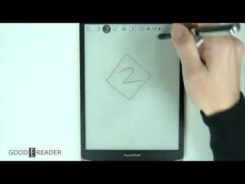 Pocketbook Inkpad X Note Taking