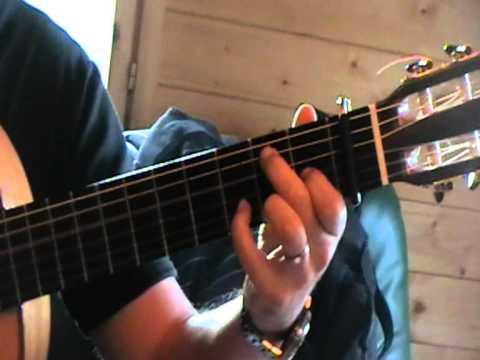 gypsy guitar chords my way --accord gipsy a mi manera