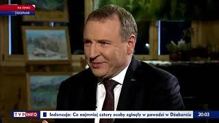 Kursi tłumaczy sukcesy TVP w sylwestra.