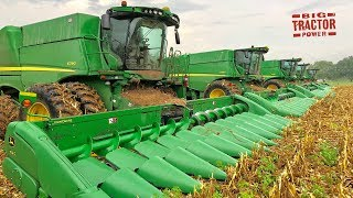 Service Time For Five John Deere S790 Combines
