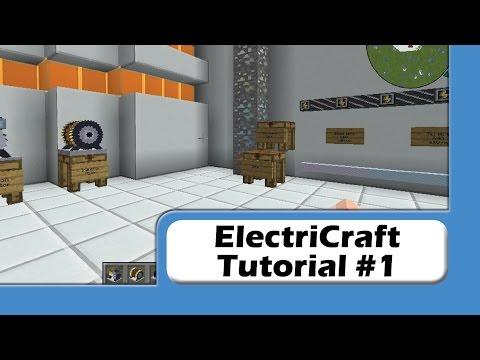 ElectriCraft Tutorial #1 - Intro and Basics