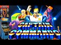Gameplay Capit o Comando capitain Commando Arcade Bora