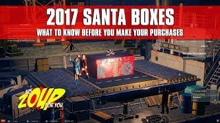 World of Warships Santa Boxes 2017 Breakdown