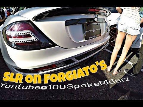 Custom Mercedes Benz SLR on Forgiato rims