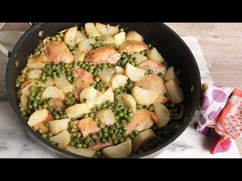 One Pot Roast Chicken with Potatoes & Peas | Episode 1156