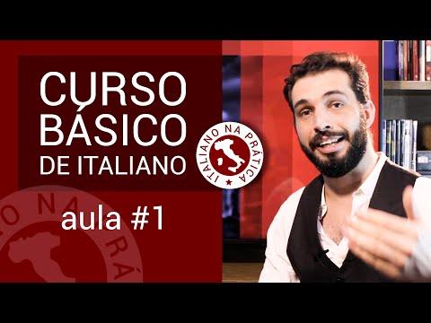 Curso básico de italiano: aula #1