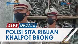 Peredaran Ribuan Knalpot Brong Berhasil Digagalkan Polres OKU, Digerebek saat Bongkar Muat