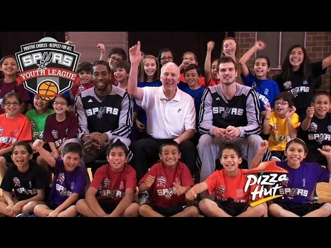Pizza Hut - Spurs Youth Basketball League commercial