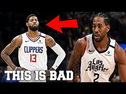 Kawhi Leonard & The Clippers Have a HUGE PROBLEM in the NBA Restart (FT. Paul George, Lou Williams)