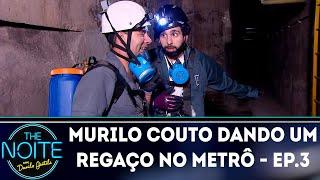 Murilo Couto dando um regaço no metrô - Ep.3 | The Noite (15/10/18)
