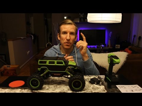 Remote Controlled RC Rock Crawler Hummer H2 – Unboxing & Review