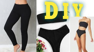 DIY:Bikini/swimsuit From Leggings The Basic Way.