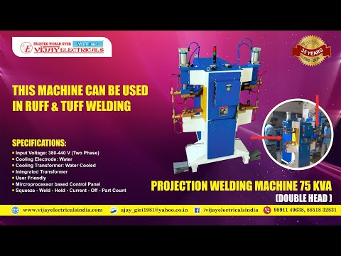 Double Head Projection Welding Machine 75 KVA