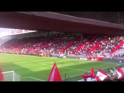 """""""Recibimiento estadio nemesio diez Toluca vs sao Pablo"""" Barra: La Perra Brava • Club: Toluca"""