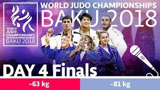 World Judo Championships 2018: Day 4 - Final Block