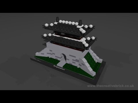 Vidéo LEGO Architecture 21016 : Sungnyemun