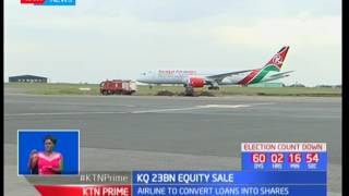 Kenya Airways to convert loans into shares