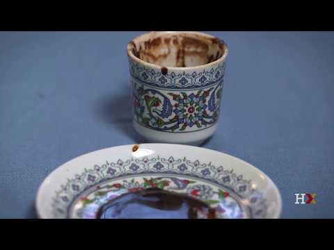 Turkish coffee cup reading