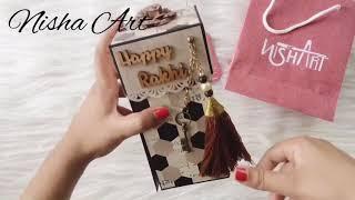 Rakhi Gift For Brother | Handmade Gift | Rakshabandhan | Nisha Art | Nisha Dobariya