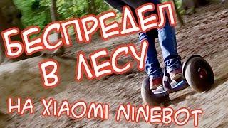 Экстрим по лесу на Ninebot Mini