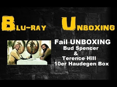 Fail Unboxing Bud Spencer & Terence Hill Blu-Ray - Haudegen-Box und was für lau :-)