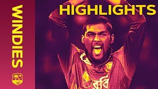 Nazmul Islam Stars In Last Over Thriller - Windies v Bangladesh 2nd IT20 2018   Extended Highlights