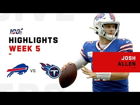 Josh Allen Leads the Bills to Victory! | NFL 2019 Highlights