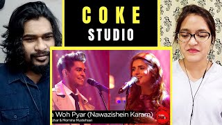 COKE STUDIO Season 9 - Tera Woh Pyar (Nawazishein Karam) - Momina Mustehsan & Asim Azhar [REACTION]