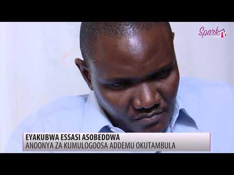Eyakubwa essasi anoonya za kumulongosa addemu okutambula