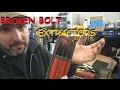 Broken Bolt Extractors and Drill Bits