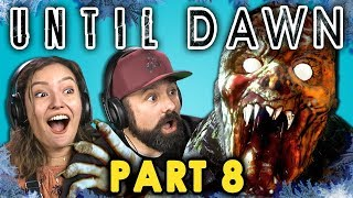 CRAZED MOUNTAIN ZOMBIE!?   UNTIL DAWN - Part 8 (React: Let's Plays) - Video Youtube