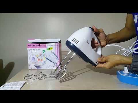Electric Super Hand Mixer