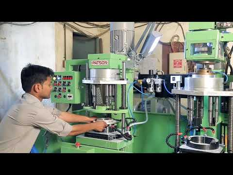 Horizontal Multispindle Boring Machine for Conrod