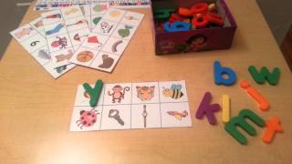 Beginning Sound Practice With Learning Resource Letters:Preschool