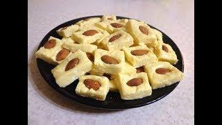 Конфеты-Сливочная помадка с орешками. Простой рецепт вкусных конфет!