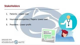 Contractual allowances in healthcare