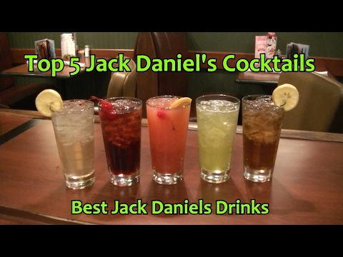 Video Top 5 Jack Daniels Cocktails Best Jack Daniel's Drinks
