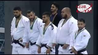 В командных соревнованиях по дзюдо мужская сборная Азербайджана завоевала золотую медаль