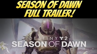 Season of Dawn TRAILER! SAINT 14 RETURNS! (Destiny 2 Shadowkeep)